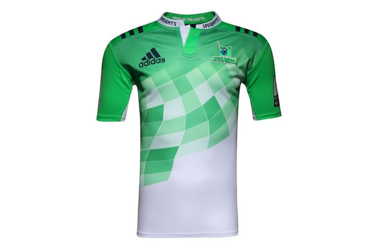 Highlanders 2016 Alternate Super Rugby S/S Rugby Shirt