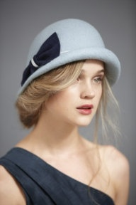 hat: Old Fashion Hats, Blue Hats, Cute Hats, Bows, Vintage Hats, Cloche Hats, Wool Hats, Hats Hairstyles, Winter Hats