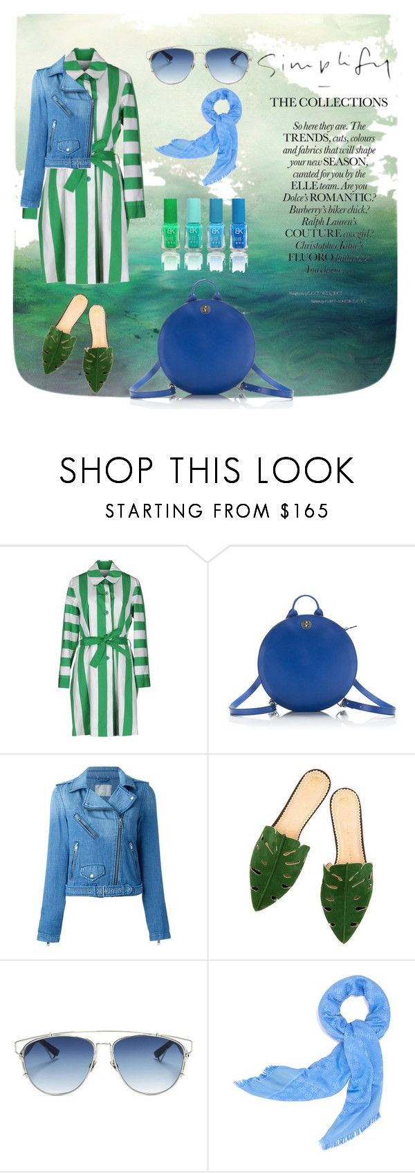 """""""Simple spring"""" by bogabag on Polyvore featuring Lahssan, Diesel, Christian Dior and Tory Burch"""