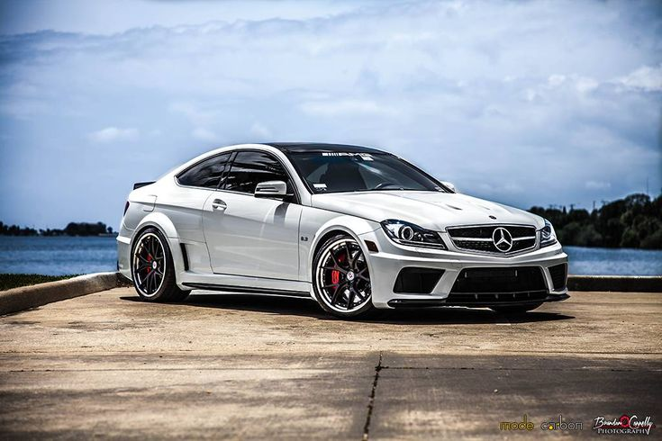 Stunning Mercedes-Benz C63 AMG Black Series Trio by Mode Carbon