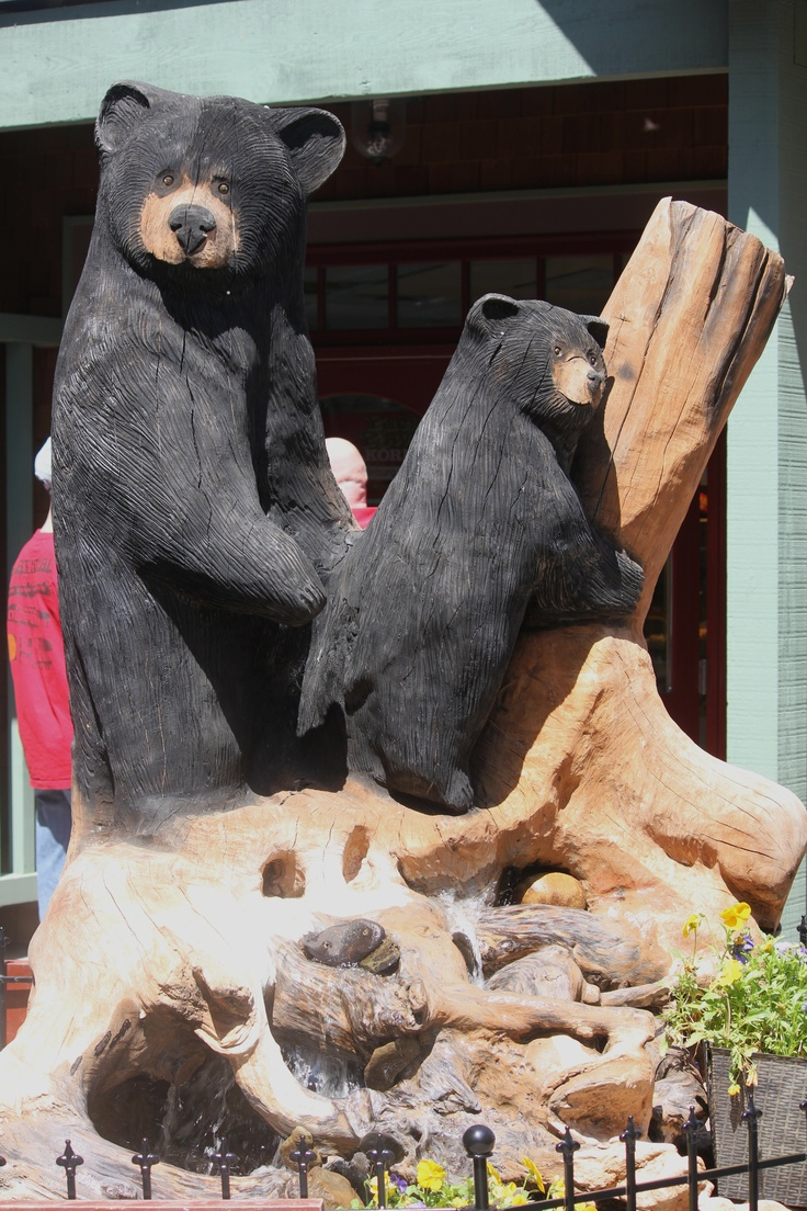 Best bear figurines images on pinterest american