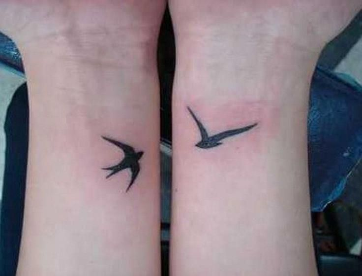 coolTop Friend Tattoos – swallow small tattoos for men #Tattoosformen