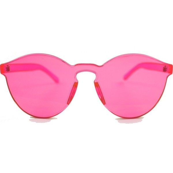 Rumbatime Spring Sunglasses found on Polyvore featuring accessories, eyewear, sunglasses, rumbatime, rose sunglasses and rose glasses