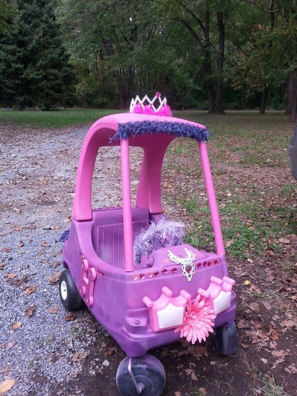 Cozy coupe princess makeover.
