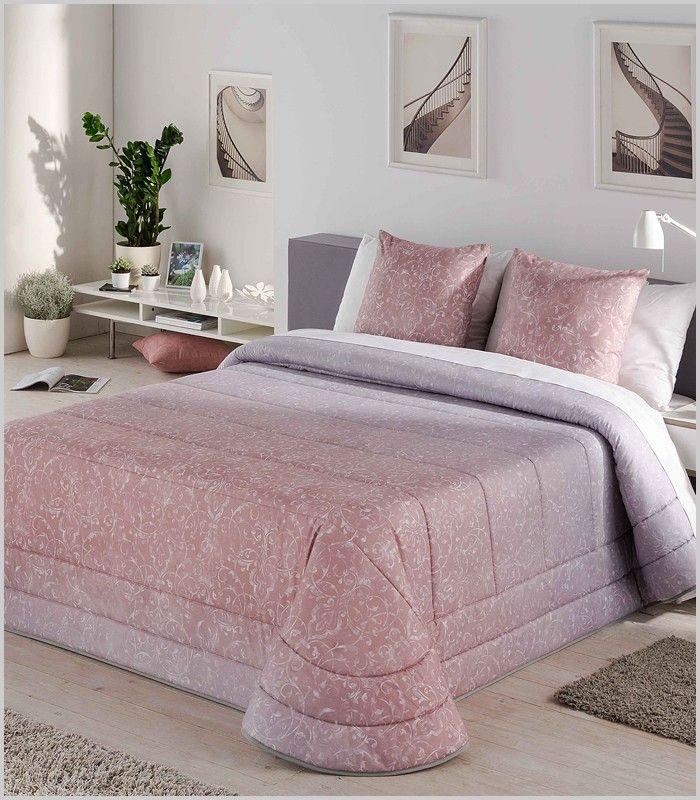 Colcha gris y rosa en degradado. | Colcha gris, Habitaciones