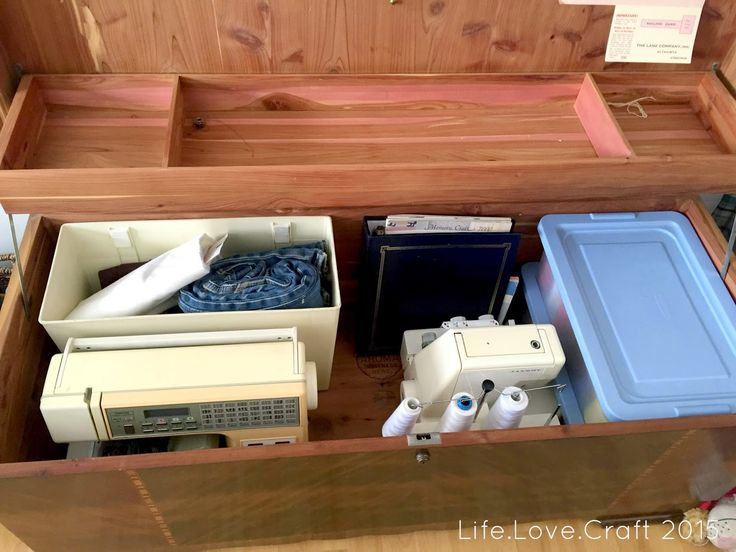 Life.Love.Craft: Quick Sewing Storage Solution