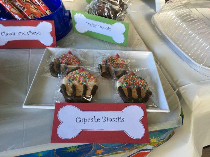 Doggy cupcake cookies