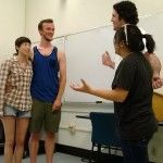 San Jose State University Chapter decided to mix leadership, team building, and fun at their Improv Group Night.