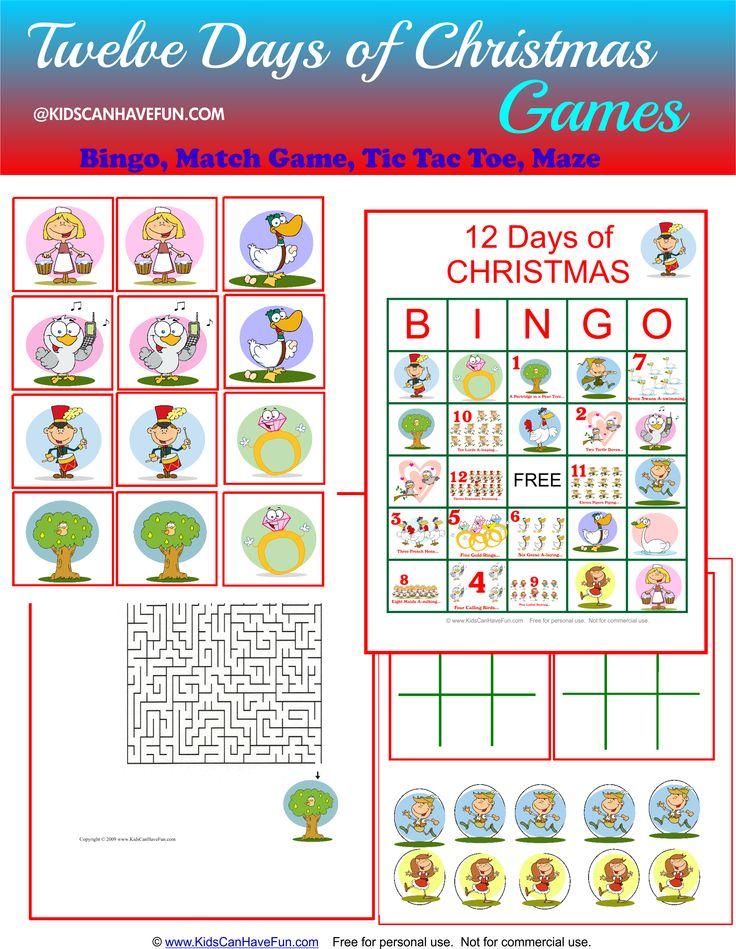 42 best images about twelve days of christmas printables worksheets coloring games on. Black Bedroom Furniture Sets. Home Design Ideas