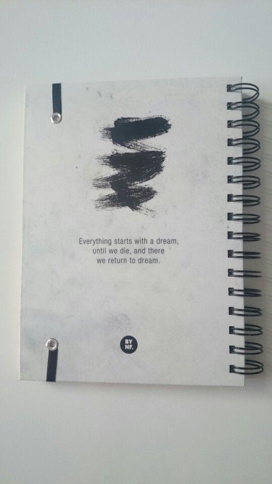 Cuaderno artesanal bynf.