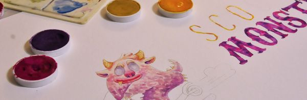 Watercolor Sessions by Los Chuitos , via Behance