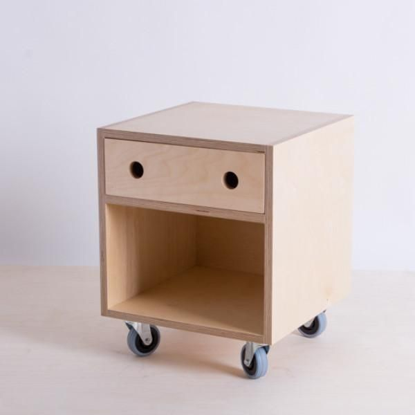 These little robots designed in collaboration with ACME and CO as bedside tables. Made from Hoop Pine, Radiata or Birch plywood come in a few different sizes an