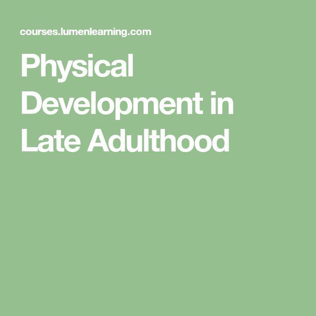 late adulthood development interview