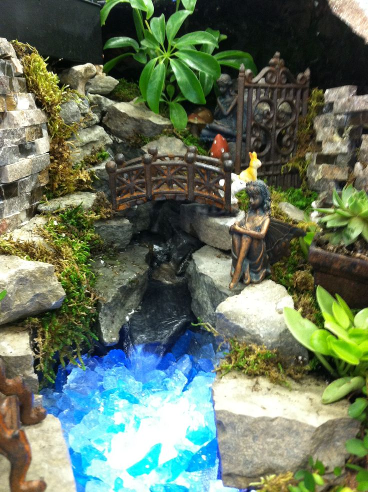 Fairy garden by Kristin Middleton   Broken pot fairy
