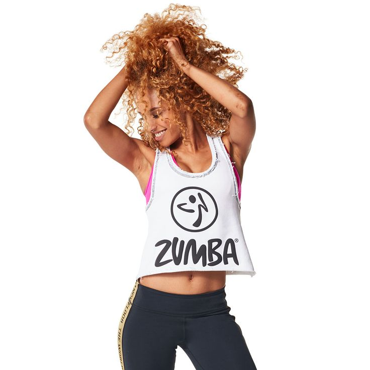 GET LOOSE IN THE CITY CROP TOP - WEAR IT OUT WHITE ---------- Take a break from the grind in the Get Loose in the City Crop Top.  Featuring a soft French Terry fabric and slightly cropped silhouette, this top is a total showstopper. Zumba Tank.