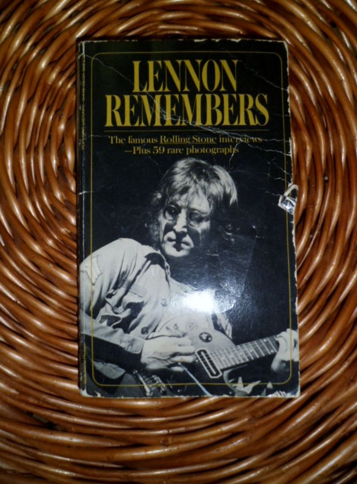 Lennon Remembers The Rolling Stone Interviews by Jann Wenner 1971 by kd15 on Etsy