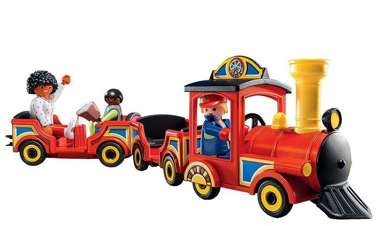 Playmobil Parque de Atracciones - Tren de los niños, playset (5549): Amazon.es: Juguetes y juegos