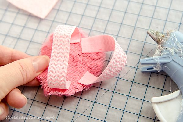 Barefoot Sandals Instructions | Take a second piece of elastic and hot glue it so that it loops ...