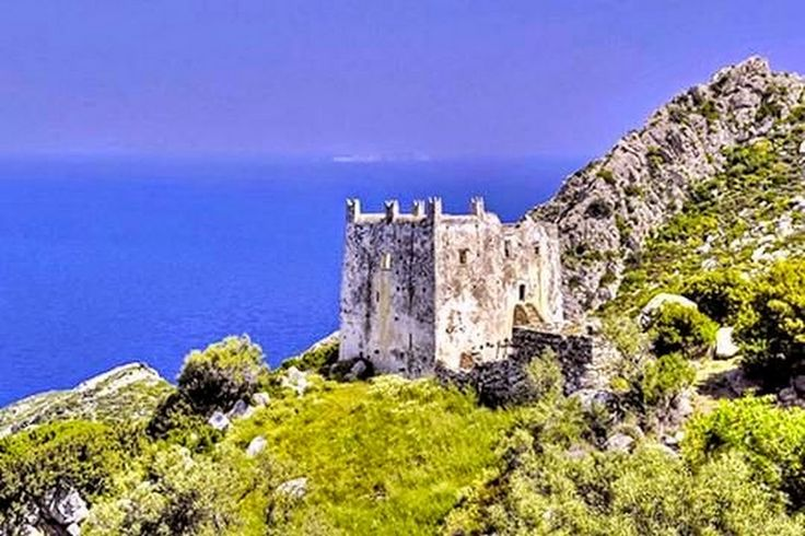 Ayia Tower of Naxos island