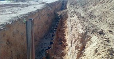 Israel Bangun Tembok Bawah Tanah Besar-besaran di Perbatasan Gaza