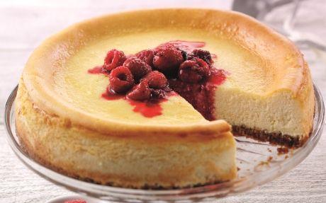 Classic American Cheesecake Recipe : Food Network UK
