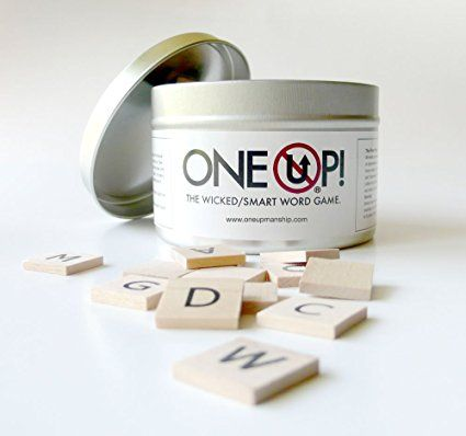 One Up! – It's like Scrabble and Bananagrams, but way funner!