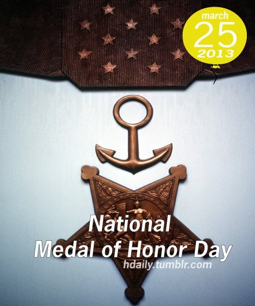 National Medal of Honor Day! Medal of honor