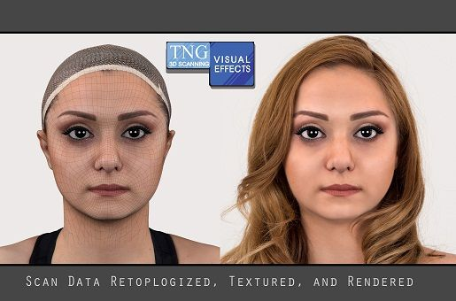 MELIKA porównanie twarzy