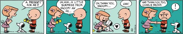 Peanuts Begins Comic Strip, January 28, 2016     on GoComics.com