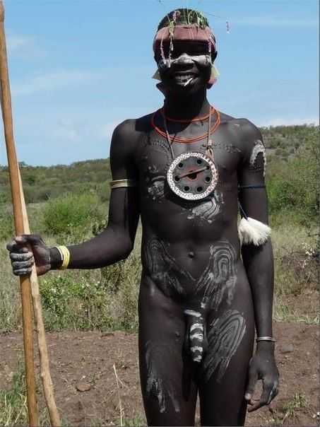 Big Dick African Tribe