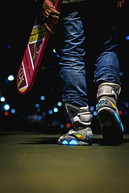 Nike Air Mag.. I love everything about these shoes.
