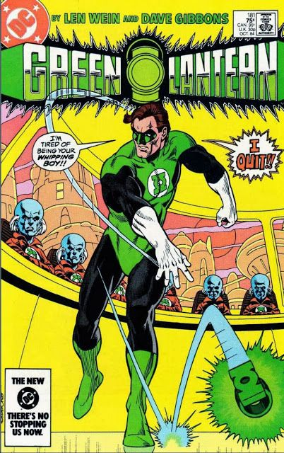 Flodo's Page: The Day They Walked Away: Green Lantern!