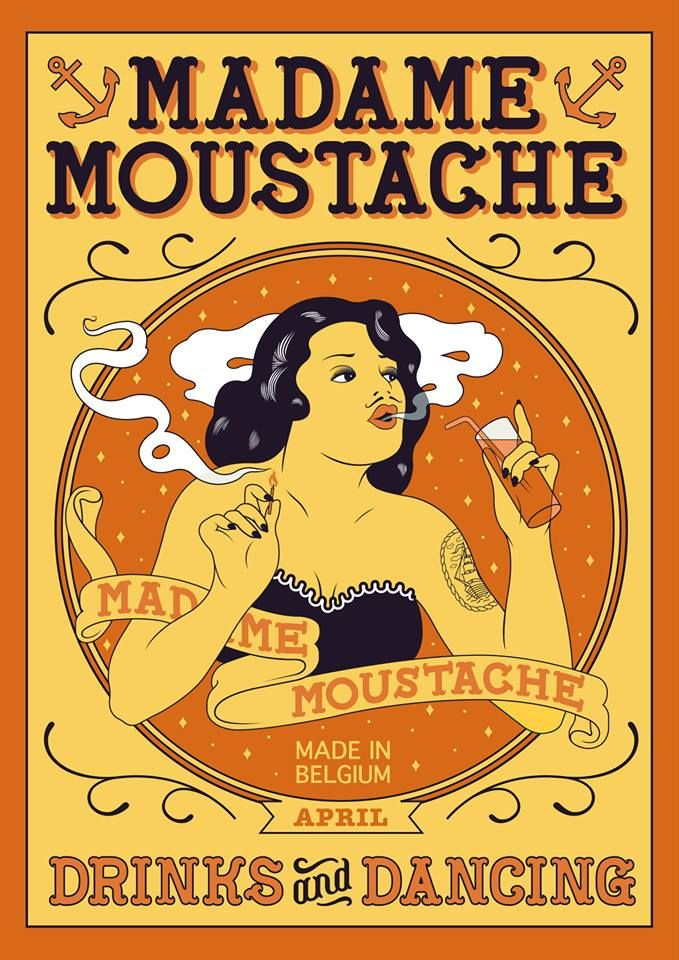 Madame Moustache is een club voor mensen die houden van alternatieve muziek.  De alternatieve club biedt verschillende thema's aan zoals:Swing, Soul, Retro ...