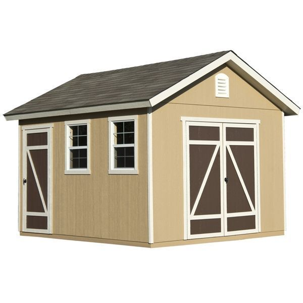 Shop Heartland Home and Garden Heartland Hillsdale 10-ft x 12-ft Engineered Wood Storage Shed at Lowe's Canada. Find our selection of storage, tool & garden sheds at the lowest price guaranteed with price match + 10% off. #gardentools