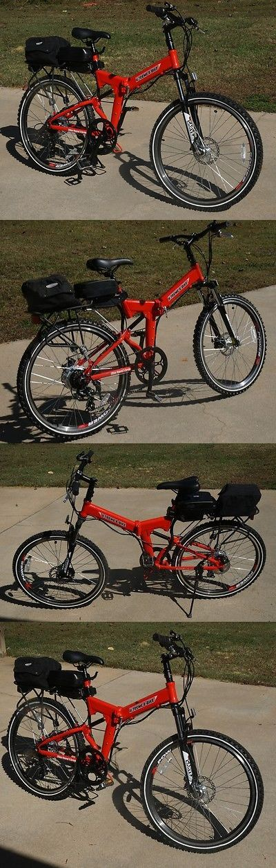 Electric Bicycles 74469: X-Treme X-Cursion Black E-Bike Electric Cycle Mountain Ev Folding Foldable Fold -> BUY IT NOW ONLY: $700 on eBay!