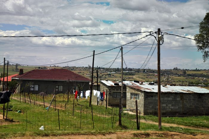 Rural houses around Babanango, KZN, South Africa. (ACPhotography)