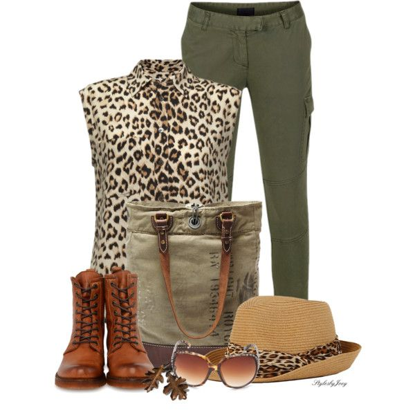 """""""Army Cat"""" by stylesbyjoey on Polyvore"""