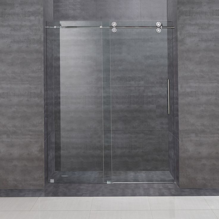 A perfect solution for the tub-to-shower conversion project, the Aston frameless sliding shower door will add elegance, functionality and quality to any space.  Enjoy the modern 4-wheeled roller system to ensure smooth and easy opening each time.