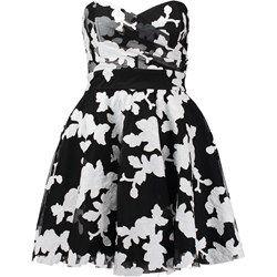 TFNC TIBI Sukienka koktajlowa black/white