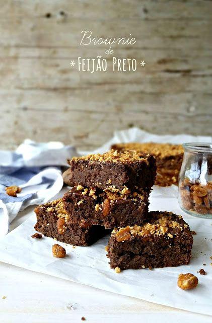 basta cheio: Brownie de Feijão Preto