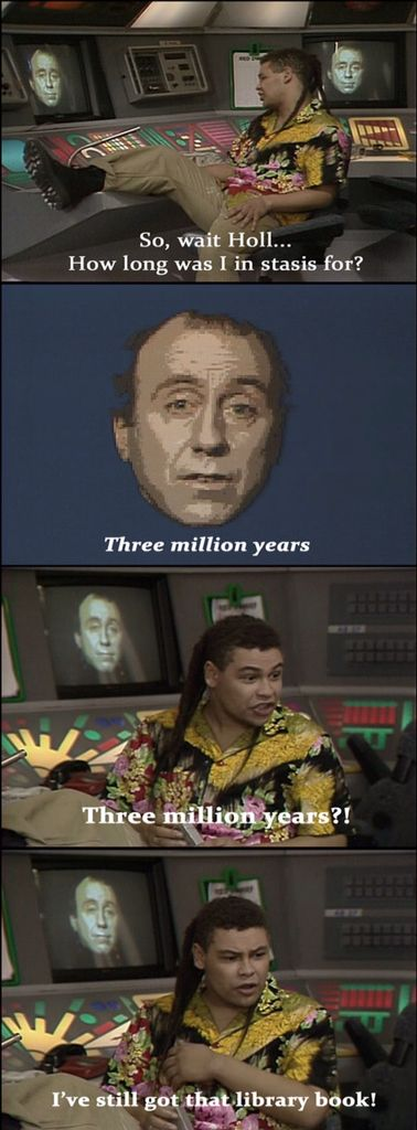 Red Dwarf Pilot; The End