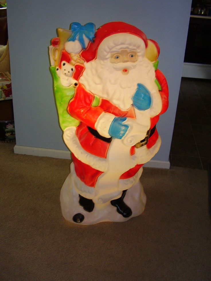 Molded Plastic Christmas Outdoor Decorations