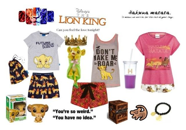 lion king sleepover and movie by mayleneholm on Polyvore featuring Disney, Kate Spade, Trilogy and KING