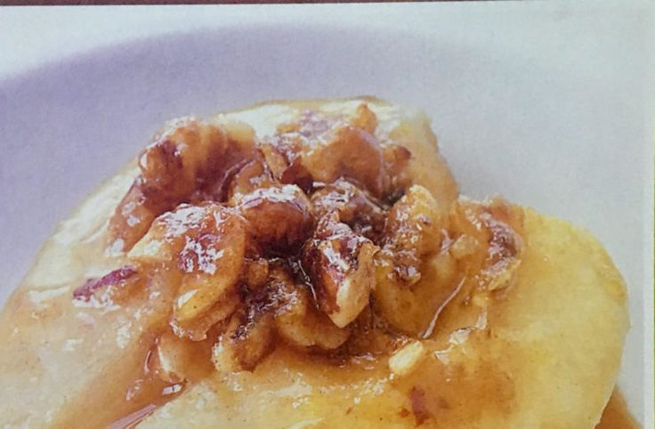 Αχλάδια ψητά μελωμένα (2 μονάδες)