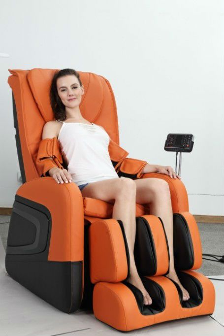 New design high end model l style mechanismhead to for Chair massage dc