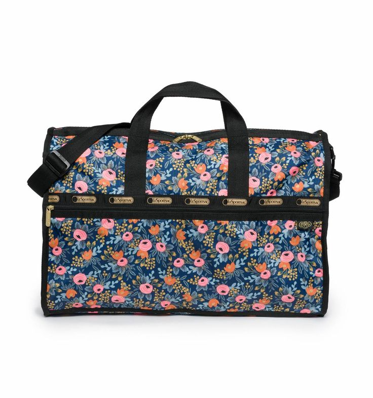 Large Weekender Tote Rosa Print by LeSportsac   Imported