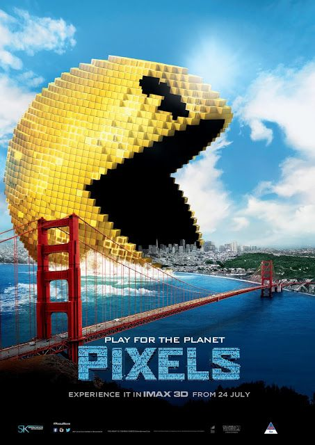 entertainment, imax 3d, movies, movies and theatre, pixels, pixels by ster-kinekor, pixels in 3d, ster-kinekor imax|No comments|Ster-Kinekor Releases PIXELS in IMAX 3D ...byHeather de BruinThursday, July 23, 2015Ster-Kinekor Releases PIXELS in IMAX 3D ...