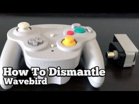 How To Take Apart A Wavebird (Gamecube Controller)