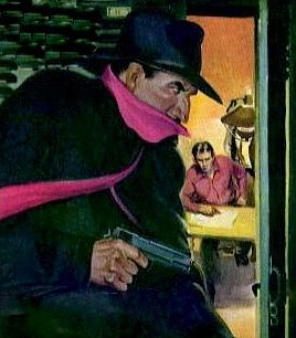 THE SHADOW PULP MAGAZINE COVER THE SPY RING