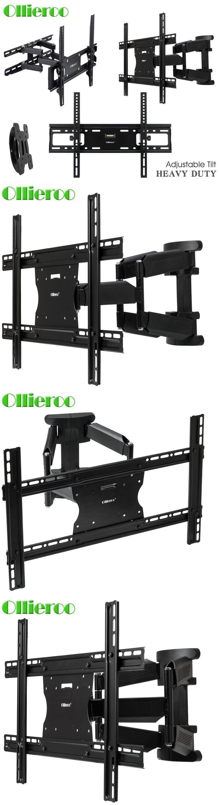 TV Mounts and Brackets: Fixed, Tilt, Or Full Motion Tv Wall Mount Bracket 32 40 42 46 50 55 60 65 70 75 -> BUY IT NOW ONLY: $39.89 on eBay!